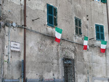 Vittorio Emanuele Street Nemi Italy Royalty Free Stock Images