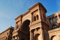 Vittorio Emanuelle, Milano Fotos de archivo