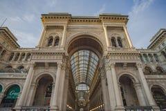 Vittorio Emauele Gallery Immagine Stock Libera da Diritti