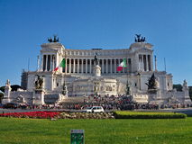 Vittorio Emmanuel II monument, Rome, Italy Stock Image