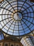 Vittorio Emmanuele Gallery, Milaan, Italië Stock Fotografie