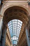 vittorio för emanuele galleria ii italy milan royaltyfri foto