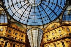vittorio galleria ii emanuele Стоковое Изображение