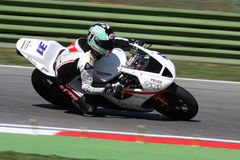 Vittorio Iannuzzo Triumph Daytona 675 Suriano Royalty Free Stock Photo