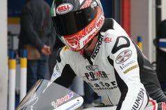 Vittorio Iannuzzo Triumph Daytona 675 Suriano stock photography