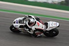 Vittorio Iannuzzo Triumph Daytona Suriano Royalty Free Stock Images