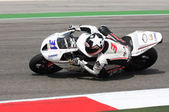 Vittorio Iannuzzo Triumph Daytona Suriano Royalty Free Stock Photo