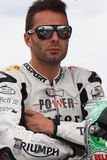 Vittorio Iannuzzo Triumph Daytona Suriano Royalty Free Stock Image