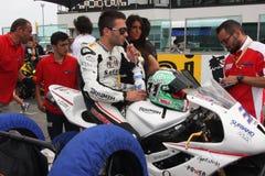 Vittorio Iannuzzo Triumph Daytona Suriano Stock Images