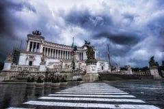 vittorio monumento του Emanuele Στοκ Φωτογραφίες