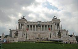 vittorio monumento του Emanuele στοκ εικόνα
