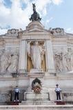 vittorio monumento emanuele Стоковое Фото