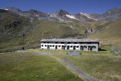 Vittorio sella hut Royalty Free Stock Photography