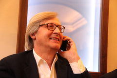 Vittorio Sgarbi Royalty Free Stock Photo
