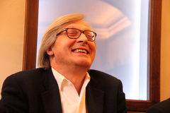 Vittorio Sgarbi Royalty Free Stock Photos