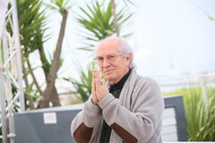 Vittorio Storaro. Attends the jury photocall during the 69th annual Cannes Film Festival at Palais des Festivals on May 11, 2016 in Cannes, France royalty free stock photography
