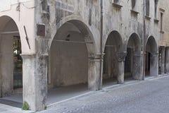 Vittorio Veneto - Detailansicht stockbilder