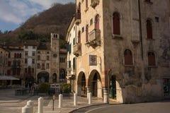 Piazza Flaminio Stock Image