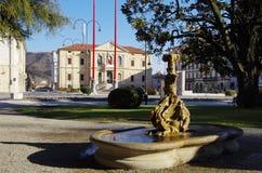 Vittorioe Veneto city hall and public gardens Royalty Free Stock Photo