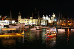 Vittoriosa harbour Royalty Free Stock Photos