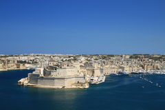 Vittoriosa. Old fortified city on the south side of the Grand Harbour in the South Eastern Region of Malta Royalty Free Stock Image