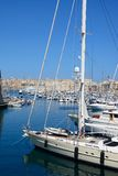 Vittoriosa and Senglea marina, Malta. Stock Photography
