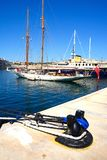 Vittoriosa and Senglea marina, Malta. Royalty Free Stock Photos