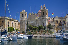 Island of Malta - Vittoriosa - Valletta Royalty Free Stock Photos