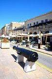 Vittoriosa waterfront, Malta. Stock Images