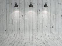 Lampa och laminat royaltyfri illustrationer