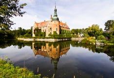 Vittskoevle Schloss. Stockbilder