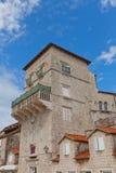 Vitturi Tower (XV c.). Trogir, Croatia. UNESCO site Stock Images