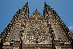 vitus святой собора стоковая фотография rf