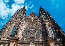 vitus святой prague собора стоковые изображения rf