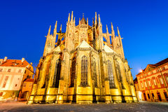 Vitus Cathedral, Prague, Czech Republic Stock Photo