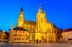 Vitus Cathedral, Prague, Czech Republic Royalty Free Stock Photos