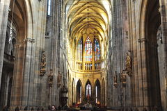 Vitus cathedral,Prague Stock Photo
