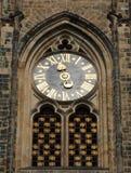 vitus de rue d'horloge images stock