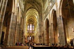 vitus de rue de la cathédrale s photos stock