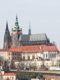 vitus st республики prague собора чехословакское Стоковое Изображение