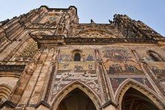 vitus st собора стоковое изображение