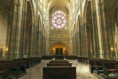 vitus st собора стоковая фотография