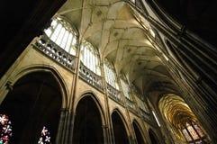 vitus st собора стоковые изображения