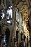 vitus st собора стоковое изображение rf