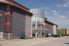 Vityazevo Ryssland - April 22, 2016: Inomhus sportar och dobbelkomplex Royaltyfria Bilder