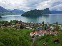 Vitznau, Ελβετία Στοκ Φωτογραφία