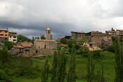 Viu de Llevata, Καταλωνία στοκ εικόνες
