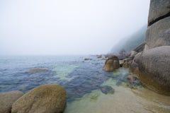 Viu o mar Imagem de Stock