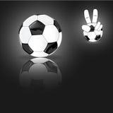 Viva calcio Fotografia Stock