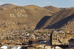 Viva el秘鲁 免版税库存照片